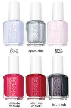 Essie Lacquer Virgin Snow Collection