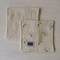 Mini Wash Cloth / Coaster for sale on Etsy