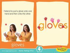 Sign of the Week - Gloves  http://www.signingtime.com/sign-weeks-gloves/