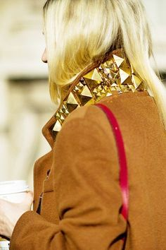 Would you stud your fall collar? Find spiked jackets at GoJane!