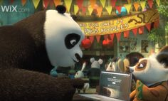 Furry Twist: Wix's Campaign Is Starring Kung Fu Panda Dreamworks Animation, Super Bowl, Kung Fu Panda 3, Commercial Advertisement, Advertising, Big Game, News Games, Panda Bear, Short Film
