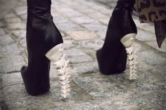 Best part of job: having a legitimate excuse to wear amazing heels every day. Okay, maybe not THESE heels, but looking fashionable kind of comes with the job description.