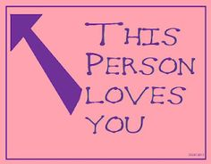 this person loves you