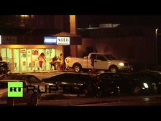 USA: Shots fired in Ferguson one year on from Mike Brown's death