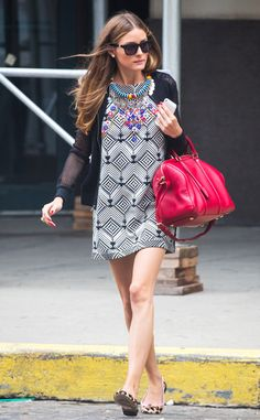 Celebrity Street Style from E! Online.  Olivia Palermo rocking an #Express mesh baseball jacket.  #EXPStyle  GET IT HERE: http://www.express.com/clothing/mesh+baseball+jacket/pro/6952136/cat450004?CID=4016