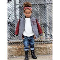 Get serious....#fendi #varsityjacket @childrensalon new #blogpost #kidblogger scoutthecity.com