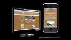 Mobile site for Arte Verde by BBB Systems