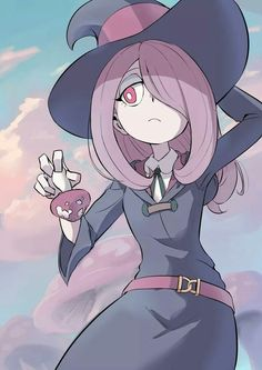 La mejor personaje, Sucy - My Little Witch Academia