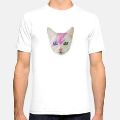 Funky Catsterz David Meowie Clothing Shirt for Girls by hhprint
