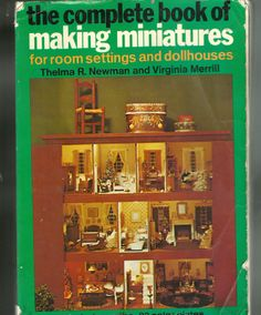 this is the cover of the book I have that shows  all of Queen Marys doll house and how to make the furnishing and all. I will continue to add the pages to this board until the whole book is copied. I hope you enjoy it.
