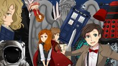 Doctor Who - Anime Style