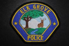 Elk Grove Police Patch, Sacramento County, California (Current 2001 Issue)