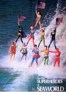DC Comics SeaWorld.