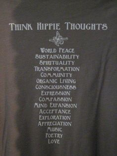 Hippie Thoughts <3