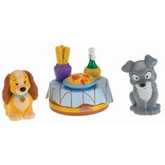Fisher-Price Little People Disney Lady & the Tramp Play Set - Walmart.com