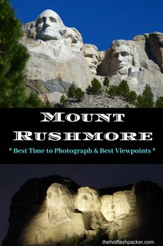 Mt Rushmore is probably the most photographed site in South Dakota. This is a guide to the best time to photograph Mount Rushmore, as well as some of the best viewpoints of Mount Rushmore. Custer State Park, Travel Inspiration, Travel Ideas, Travel Tips, Travel Advice, Us Destinations, Take The Stairs, Morning View, Travel Usa