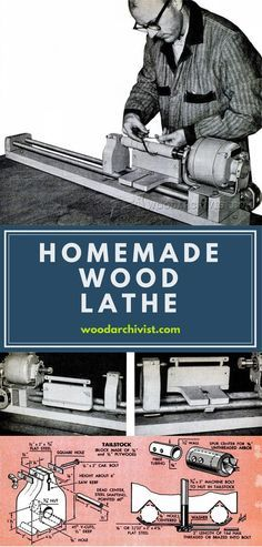 Homemade Wood Lathe - Lathe Tips, Jigs and Fixtures | WoodArchivist.com