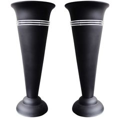 Pair of American Art Deco Revival Tall Console Torchieres. | From a unique collection of antique and modern table lamps at http://www.1stdibs.com/furniture/lighting/table-lamps/