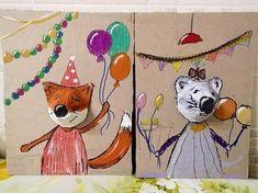 Kindergarten Art, Preschool Art, Paper Art, Paper Crafts, Paper Clay, Egg Carton Crafts, Creation Deco, Cardboard Art, School Art Projects