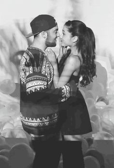 Ariana Grande And Mac Miller By Isabel Pink XoXo