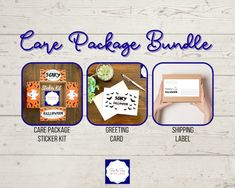 Sunshine Care Package, Shipping Label, Halloween Care Packages, Birthday Care Packages, Deployment Care Packages, Box Of Sunshine, Happy Stickers, Address Labels, Scary Halloween