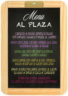 Al Plaza Ordina qui www.bacchetteforchette.it/proposta/68