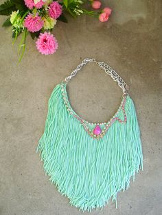 Mint to be turquoise ***smile*****  by Kedul Kreation on Etsy