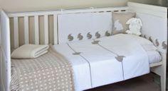 Rabbit cot quilt and bumper set - Buy a Rabbit cot quilt and bumper set from White Rabbit England - Bedding - Nursery Bedding Sets, Cot Bedding, White Bedding, Cot Bed Quilt, Cashmere Baby Blanket, Kids Lamps, Toddler Bed, Rabbit, Childrens Pyjamas