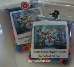 Super cute Avengers birthday party for little boys #avengers #birthday