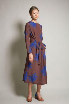 c70f3f986f4 No.6 Simone Dress in Full Bloom Brown Swimwear Fashion