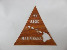 We Are Mauna Kea decal