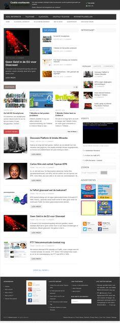 The website 'watdoenwijmet.nl' - Telecom News