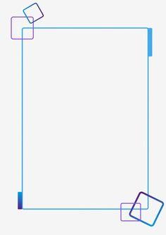 Technological Border Blue Lines Purple Border Blue Purple Gradient Border Vector and PNG Boarder Designs, Page Borders Design, Web Design, Page Design, Simple Background Images, Simple Backgrounds, Geometric Background, Poster Background Design, Powerpoint Background Design