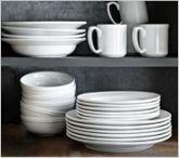 Williams-Sonoma Open Kitchen Dinnerware Collection | Williams-Sonoma & Apilco Tradition Porcelain Dinnerware Place Settings | Williams ...
