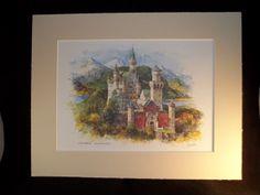 Detlev Nitschke Print of Konigsscloss in by Bellababs on Etsy, $29.99