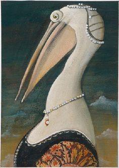 "Svjetlan Junakovic==""King and Queen of the pelicans we, No other birds so happy we see..."""