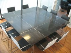Contemporary concrete table CAPTIVE LCDA - Concrete. / www.bontool.com