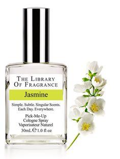 Jasmine Cologne – Extraordinary scent & perfume from The Library of Fragrance – The Library of Fragrance