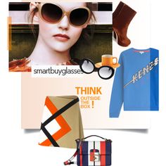 Smartbuyglasses Contest by dear-inge on Polyvore featuring Kenzo, MSGM, Miu Miu, Dolce&Gabbana, Price & Kensington, Prada, sunglasses and smartbuyglasses