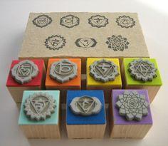 7 Chakras Rubber Stamps with cardboard box  Set de sellos de goma de los 7 #Chakras con caja de cartón hecha a medida !! Available in: www.samadhiartshop.etsy.com  #reiki #yoga #meditation #mandala #scrapbook #muladhara #svadhisthana #manipura #anahata #vishuddha #ajna #sahasrara #harmonizer #hinduism #highvibration #yogaeverywhere #yogastudio #floweroflife #yogaclass #yogaeveryday #meditazione #meditacio #meditacion #stationery  #samadhiart #scrapbooking
