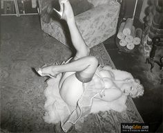 """From 20th-century American style of burlesque was focusing on legs, breasts and overall female nudity with frequent appearances of exotic dancers in """"cooch"""" dances. These erotic entertainments were given in cabarets, clubs, theatres and music halls. By the late 1930s, burlesque was gradually transiting to striptease. There were such famous burlesque striptease stars as Tempest Storm, Lili St. Cyr, Blaze Starr, Ann Corio and many others."""