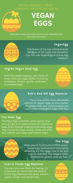 You can now access the delicious yellow goodness inside! Here are a few delicious vegan egg brands that you can try now