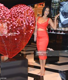 Victoria's Secret Supermodel Adriana Lima reveals her personal gift picks at Victoria's Secret Event in The Forum Shops at Caesars Palace on February 3, 2015 in Las Vegas, Nevada.