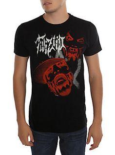 Twiztid Red Faces T-Shirt, BLACK