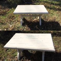 Vintage Shabby Distressed Bench--Step Foot Stool--Cottage Chic Kitchen Stool--Timeout Bench--Display Shelf or Riser by AlloftheAbove on Etsy