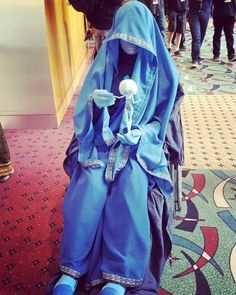 thischick25:I found this beautiful photo of my cosplay on instagram. Thanks to bambrandolino for getting this gorgeous shot, oh my gosh. Cosplay: Blue Diamond (Steven Universe)Cosplayer: thischick25 Taken at Anime Milwaukee 2016
