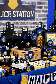Patrol THANK YOU TAG- Police Party- Cop - Policeman
