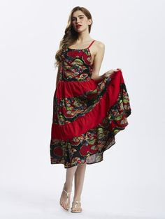 Floral dresses kohls ethnic style women strap printing patchwork bohemian pleated maxi dress #floral #dresses #jabong #floral #dresses #melbourne #floral #prom #dresses #2016 #mamp;s #floral #dresses