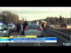 Dramatic new video of Arkansas school bus hijacking released: