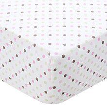 Carter's Crib Sheet - Pink Dot